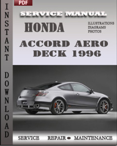 Honda Accord Aero Deck 1996 global