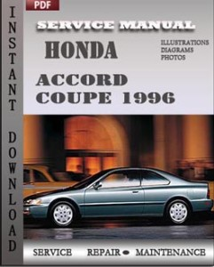Honda Accord Coupe 1996 global