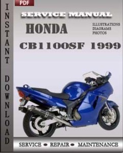 Honda CB1100SF 1999 global
