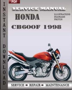 Honda CB600F 1998 global
