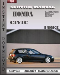 Honda Civic 1993 global