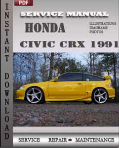 Honda Civic CRX 1991 global