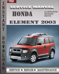 Honda Element 2003 global
