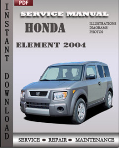 Honda Element 2004 global