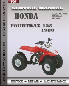 Honda Fourtrax 125 1986 global