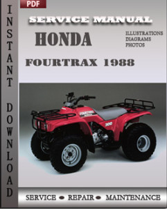 Honda Fourtrax 1988 global