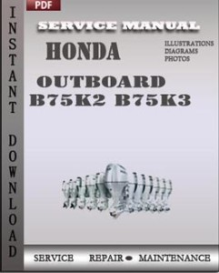 Honda Outboard B75K2 B75K3 global