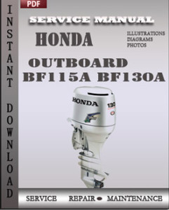 Honda Outboard BF115A BF130A global