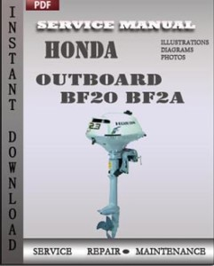 Honda Outboard BF20 BF2A global