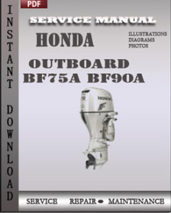 Honda Outboard BF75A BF90A global