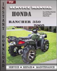 Honda Rancher 350 2005 global