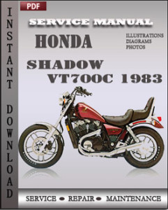 Honda Shadow VT700C 1983 global