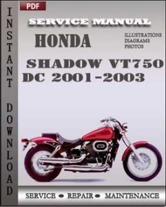 Honda Shadow VT750 DC 2001-2003 global
