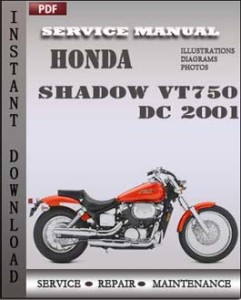 Honda Shadow VT750 DC 2001 global