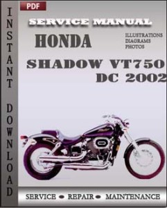 Honda Shadow VT750 DC 2002 global