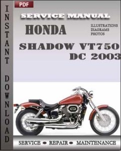 Honda Shadow VT750 DC 2003 global