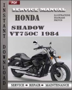 Honda Shadow VT750C 1984 global