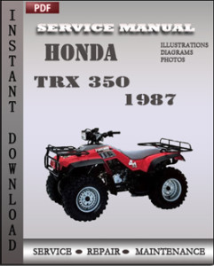 Honda TRX 350 1987 global