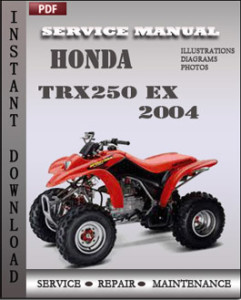 Honda TRX250 EX 2004 global