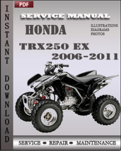 Honda TRX250 EX 2006-2011 global