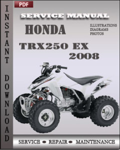 Honda TRX250 EX 2008 global