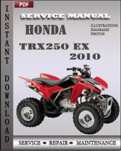 Honda TRX250 EX 2010 global
