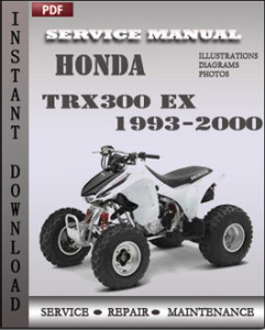 Honda TRX300 EX 1993-2000 global