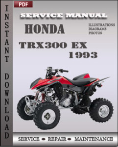 Honda TRX300 EX 1993 global