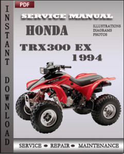 Honda TRX300 EX 1994 global