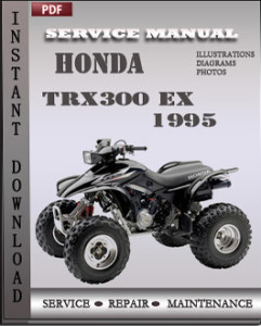Honda TRX300 EX 1995 global