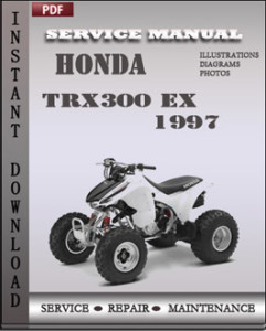Honda TRX300 EX 1997 global
