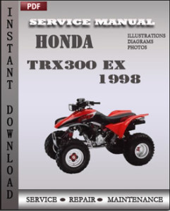 Honda TRX300 EX 1998 global