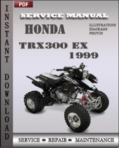 Honda TRX300 EX 1999 global