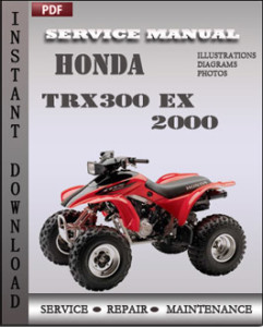 Honda TRX300 EX 2000 global