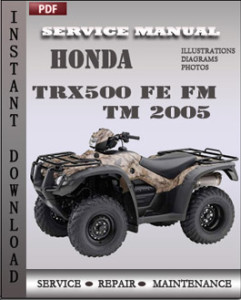 Honda TRX500 FE FM TM 2005 global