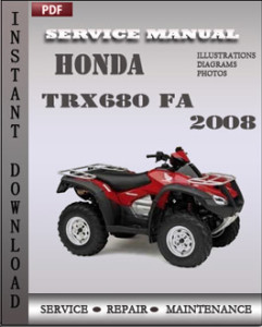 Honda TRX680 FA 2008 global