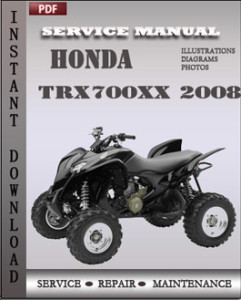 Honda TRX700xx 2008 global