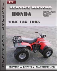 Honda Trx 125 1985 global