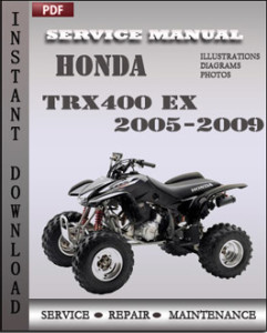 Honda Trx400 EX 2005-2009 global