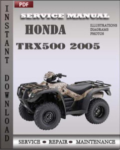 Honda Trx500 2005 global