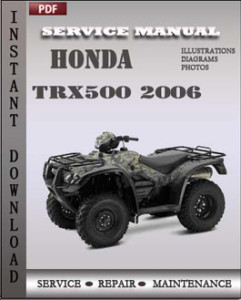 Honda Trx500 2006 global