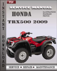Honda Trx500 2009 global
