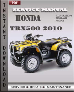 Honda Trx500 2010 global