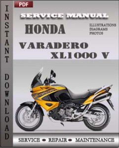 Honda Varadero XL1000 V global