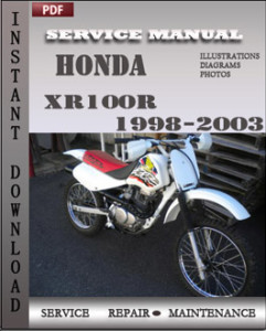Honda XR100R 1998-2003 global