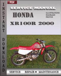 Honda XR100R 2000 global
