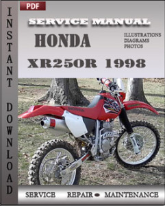 Honda XR250R 1998 global