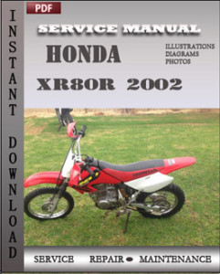 Honda XR80R 2002 global
