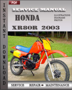 Honda XR80R 2003 global